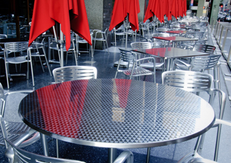Druid Hills, GA Stainless Steel Table