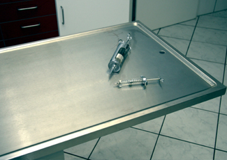 Belvedere Park, GA Stainless Table