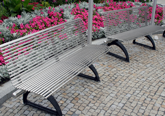 Druid Hills, GA Stainless Steel Benches