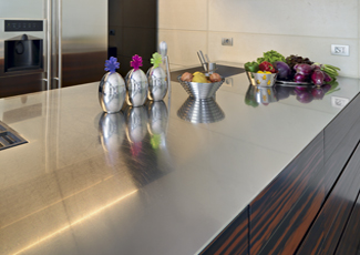 Stainless Steel Kitchen Island North Druid Hills, GA